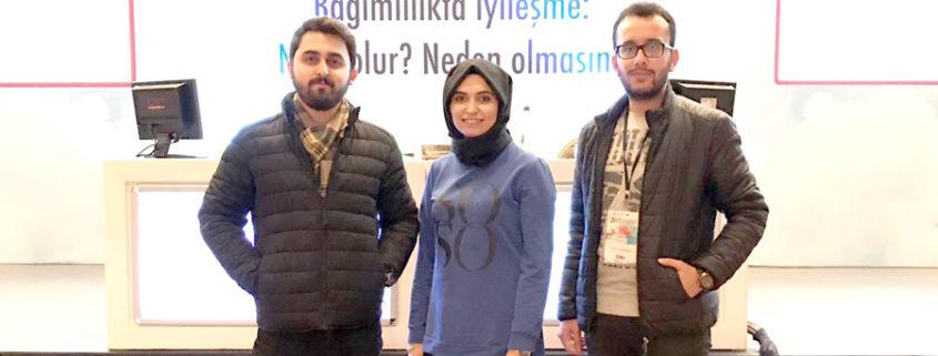 Özel Kapadokya Hastanesi Amatem Ekibi 12. Ulusal Alkol ve Madde Bağımlılığı Kongresinde...