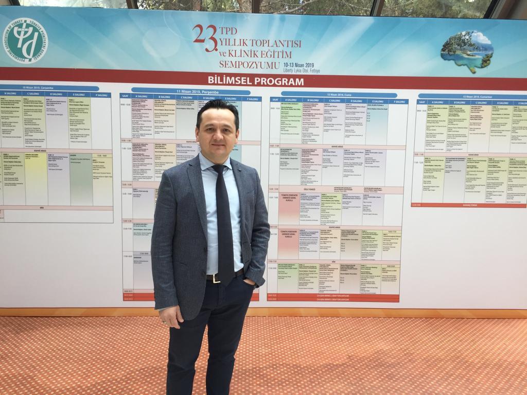 Psikiyatri Uzmanımız Dr. İbrahim Karakaya Muğla'da düzenlenen 23. Yıllık Eğitim Sempozyumu'na katılmıştır.