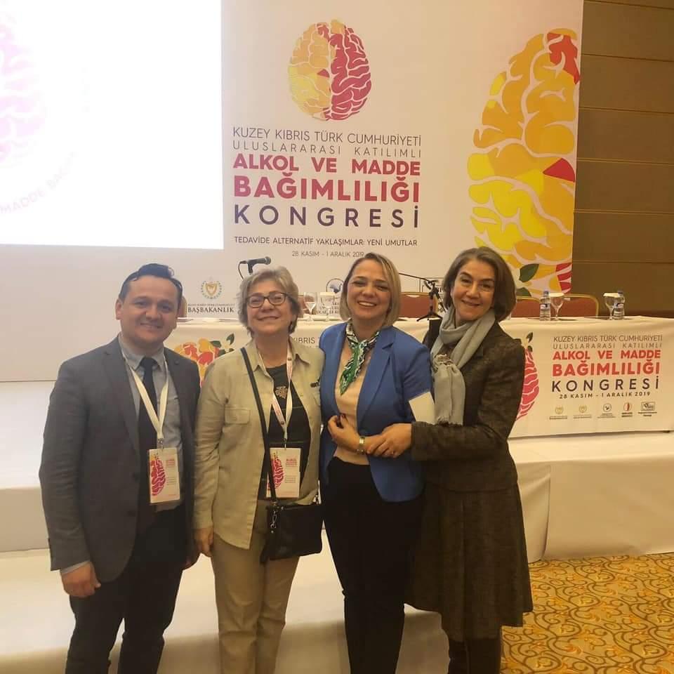 Psikiyatri Uzmanımız Dr. İbrahim KARAKAYA Kıbrıs'ta Düzenlenen Alkol ve Madde Bağımlılığı Kongresinde Kumar Bağımlılığı Panelinde Konuştu