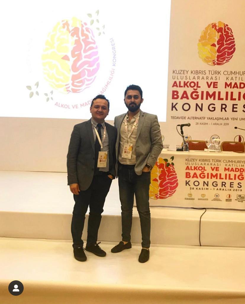 Kapadokya AMATEM Ekibi Uluslararası Katılımlı Alkol ve Madde Bağımlılığı Kongresi için Kıbrıs'a Gitti